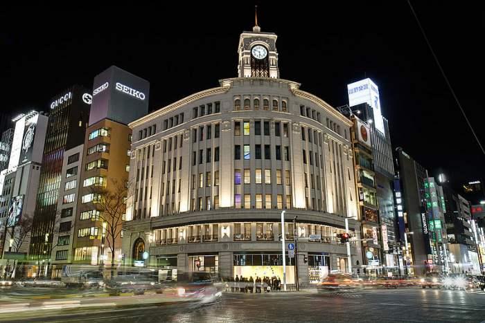 Ginza - Wisata Belanja di Tokyo