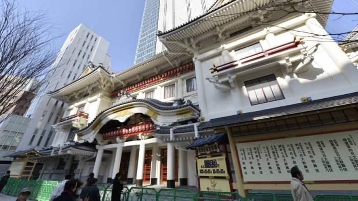 Kabuki-za - Tempat wisata di Tokyo