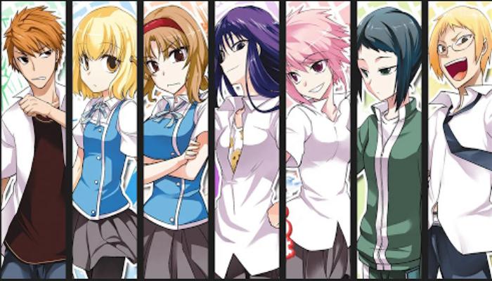 Anime Komedi Terbaik - D-Frag! Wikia
