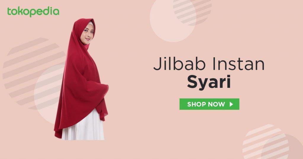 jual jilbab instan syari