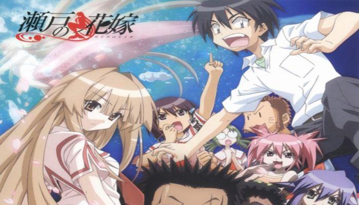 Anime Komedi Terbaik - Seto no Hanayome