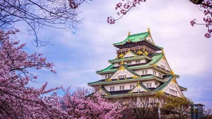 Kastil Osaka - Objek wisata di Osaka