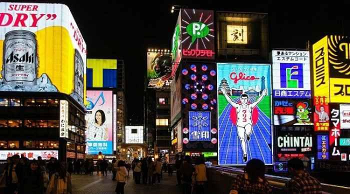 Dotonbori -Objek wisata di Osaka