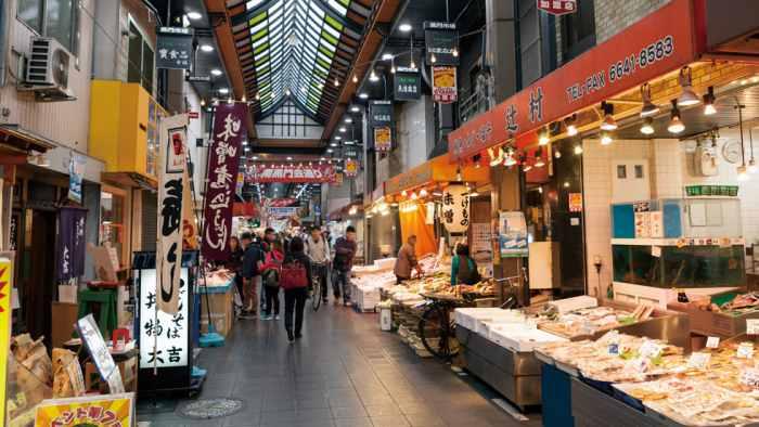 Kuromon Ishiba - Objek wisata di Osaka
