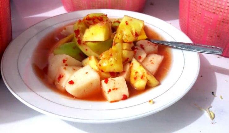 resep dan cara membuat asinan buah betawi