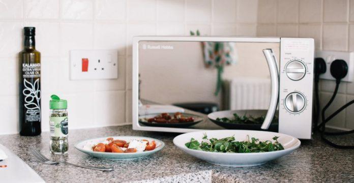 cara menggunakan microwave