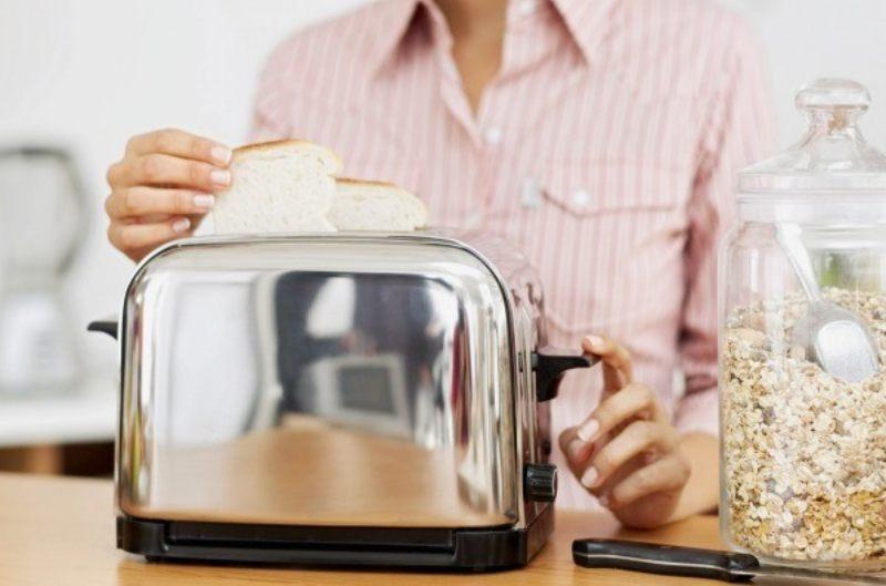 cara menggunakan pemanggang roti