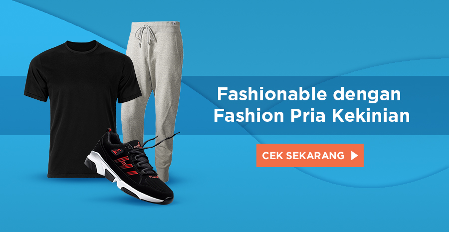 Pilihan produk fashion pria terbaik dan terlengkap dengan harga terbaik | https://tokopedia.link/xsFusN89WS