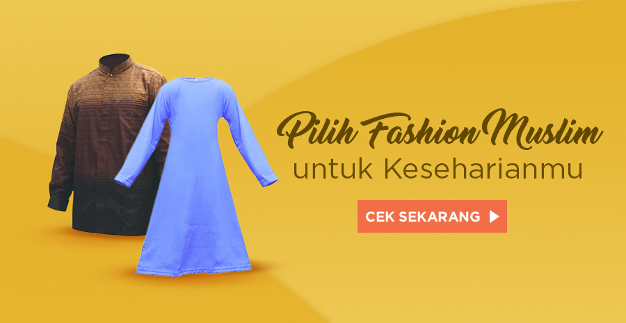 perlengkapan fashion muslim