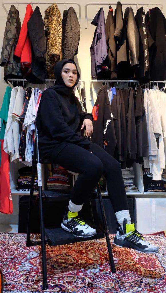 Mix and Match fashion Hijab ala Sivia