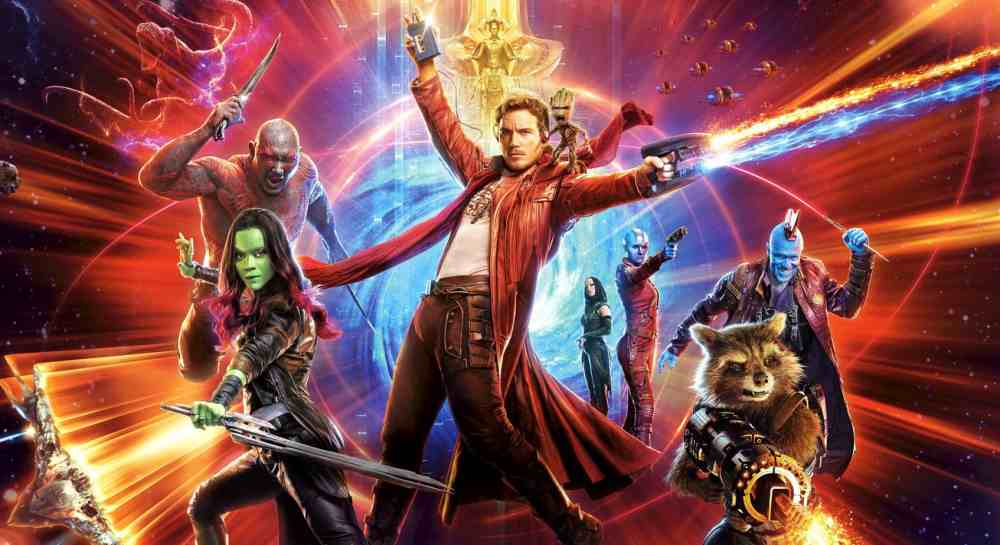 film action terbaik Guardians of the Galaxy Vol. 2