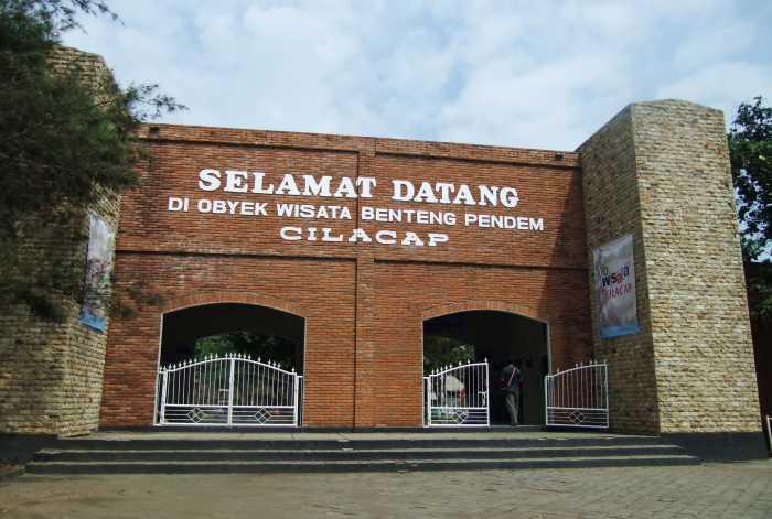 Benteng Pendem - Destinasi Wisata Cilacap