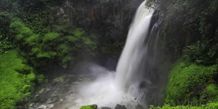 Air terjun telun berasap - Tempat Wisata di kerinci