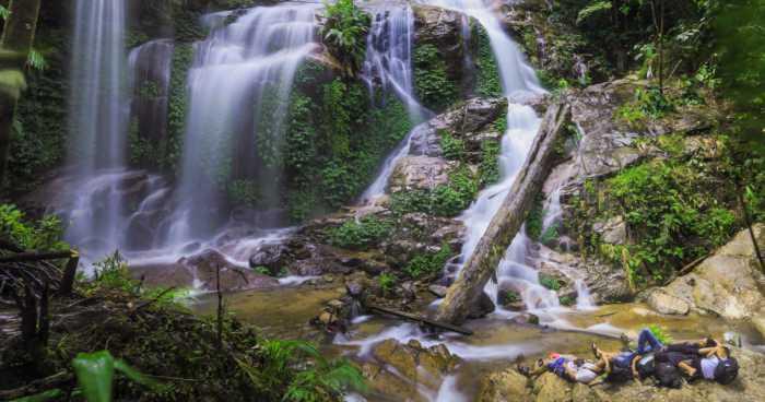Air terjun talang kemulun - Tempat Wisata di kerinci