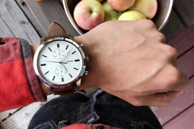 review jam tangan fossil, fossil townsman chronograph, kelebihan jam fossil townsman, kekurangan jam fossil townsman