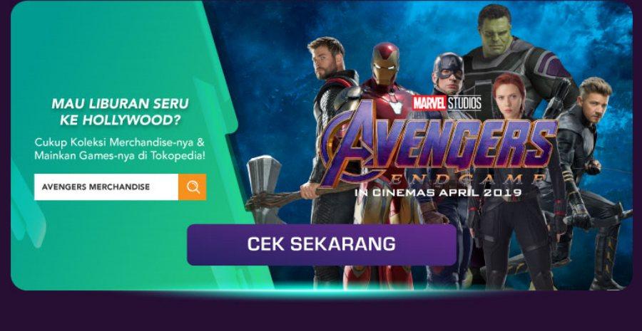 Avengers X Tokopedia