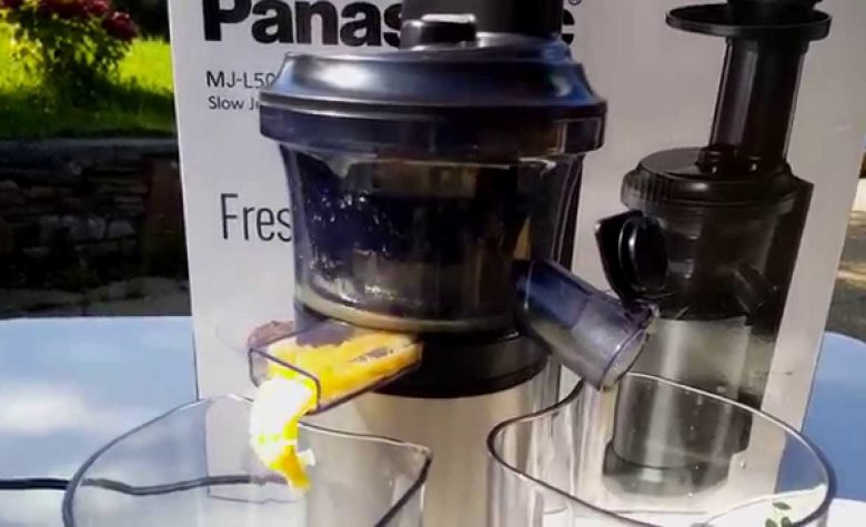 review slow juicer panasonic mj l500, kelebihan dan kekurangan slow juicer panasonic mj l500