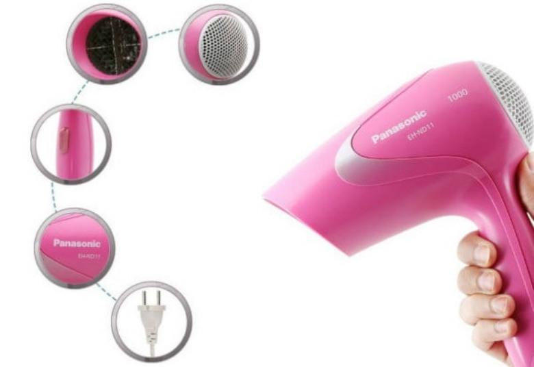 review hair dryer panasonic, review hair dryer panasonic eh nd11, kelebihan dan kekurangan hair dryer panasonic eh nd11