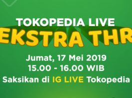 tokopedia live ekstra thr