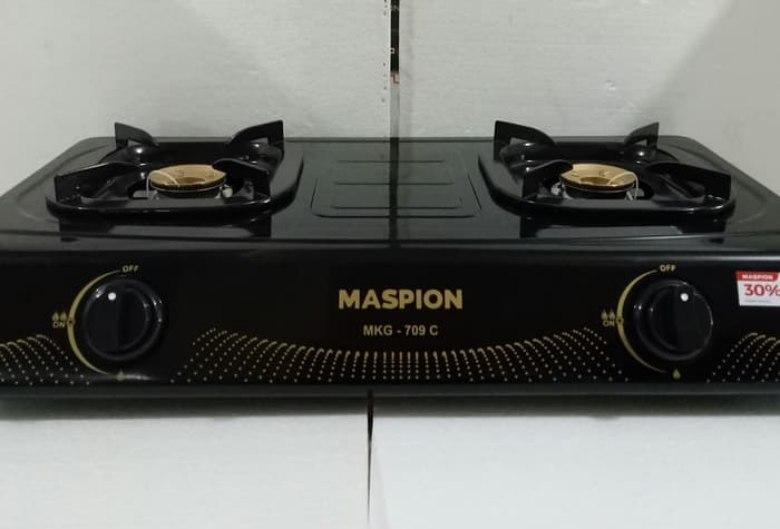review kompor gas maspion mkg 709 c, kelebihan kompor gas maspion mkg 709 c, keunggulan kompor gas maspion mkg 709 c