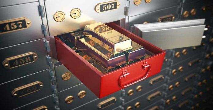 cara menyimpan emas di rumah yang aman