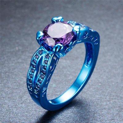 cincin emas biru, warna emas yang cukup langka