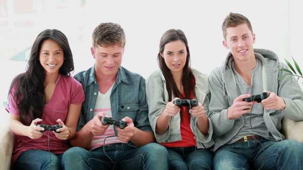manfaat bermain game: menambah teman