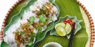 Makanan Khas Vietnam Banh Cuon