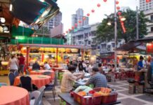 Destinasi wisata kuliner di Kuala Lumpur