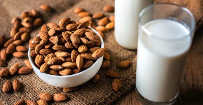 manfaat susu almond, manfaat susu almond untuk ibu hamil, manfaat susu almond untuk ibu menyusui