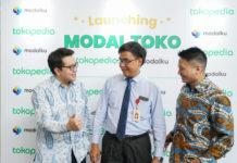 Konferensi Pers Modal Toko