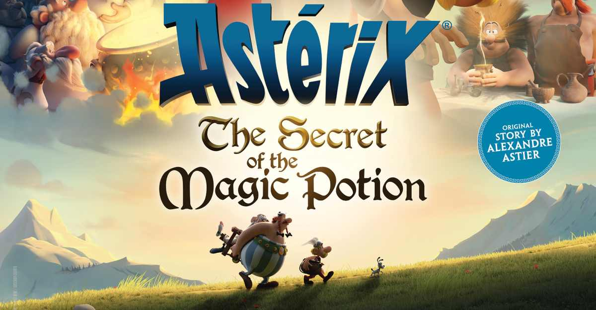 Sinopsis/Review Film Asterix: The Secret of the Magic Potion