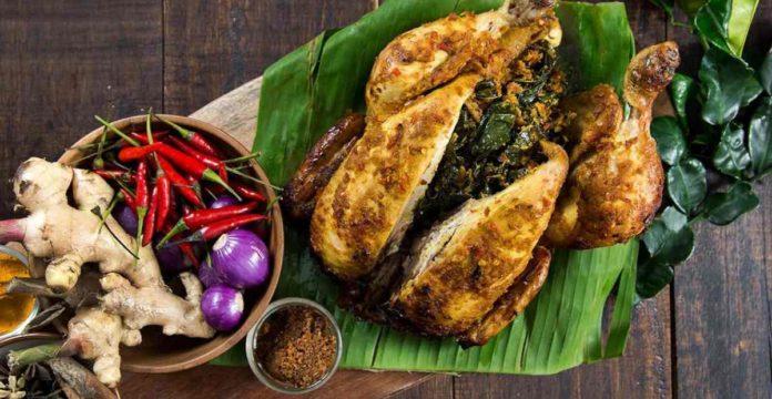 resep ayam betutu, cara membuat ayam betutu