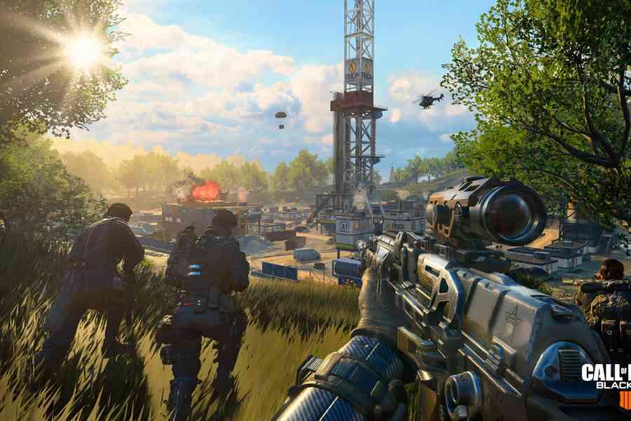 game fps pc terbaik - Call of Duty: Black Ops 4