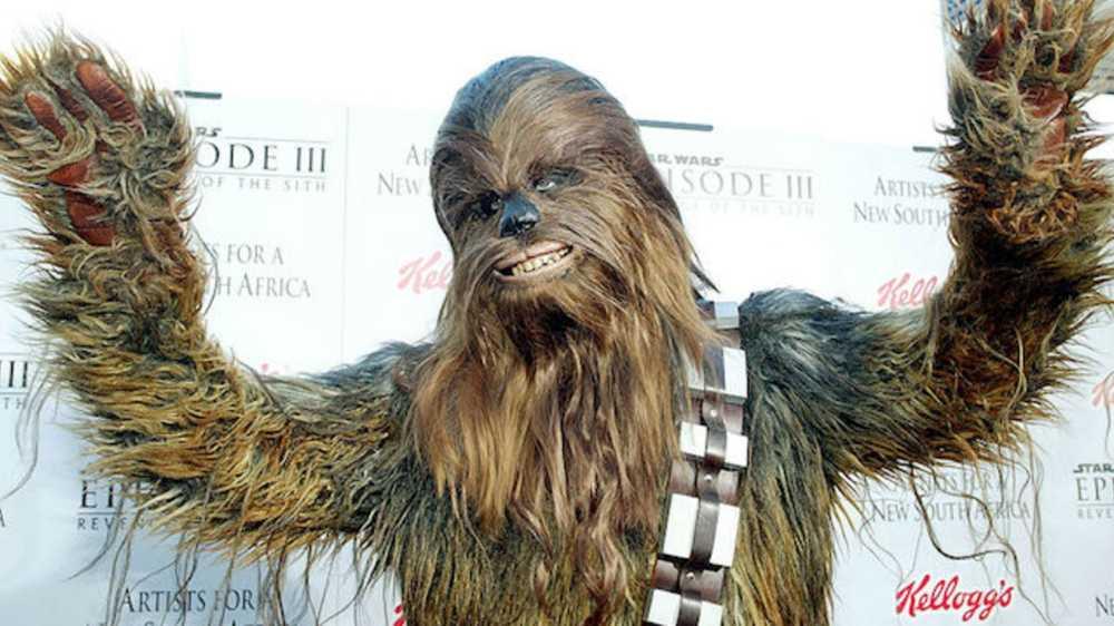 karakter star wars - Chewbacca