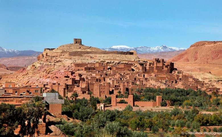 objek wisata di maroko