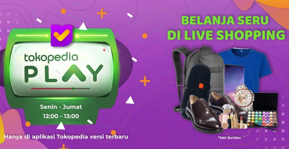 Ikuti Tokopedia Live Shopping Nikmati Promo Dan Giveaway Menarik