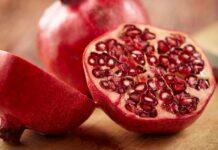 buah delima, pomegranate