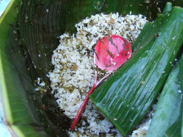Nasi khas Indonesia