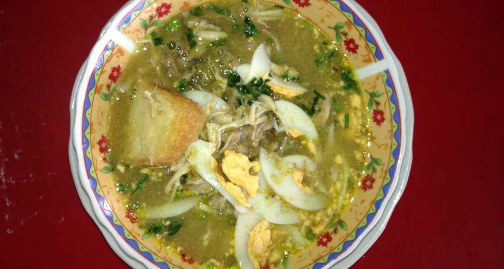 makanan khas samarinda soto banjar