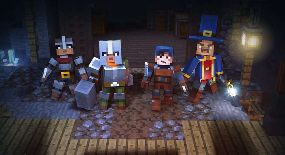 game pc terbaru minecraft dungeons