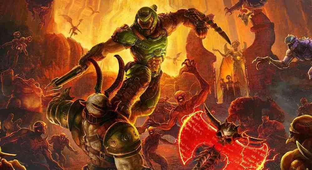 game pc terbaru Doom Eternal