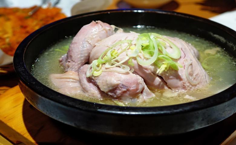 restoran halal di korea Wonjo Seoul Samgyetang