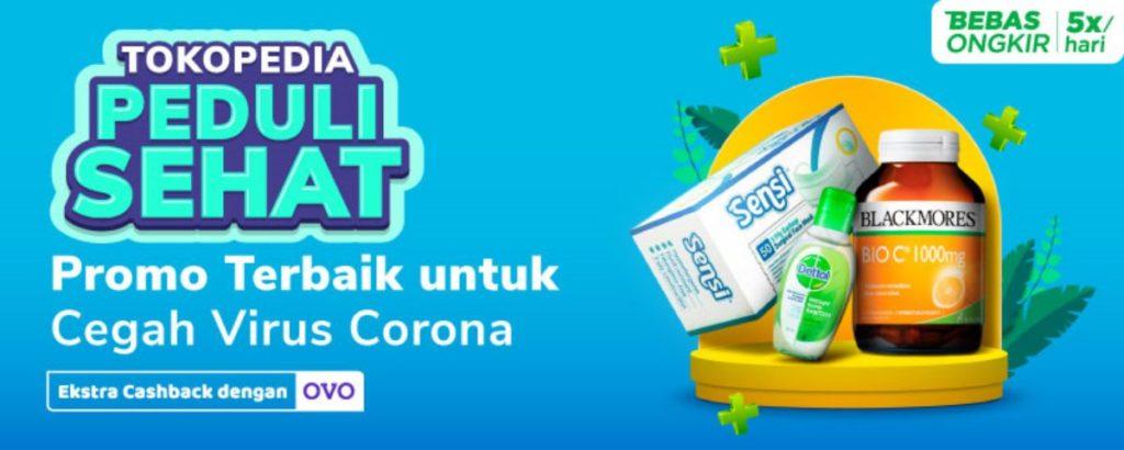 tokopedia corona campaign