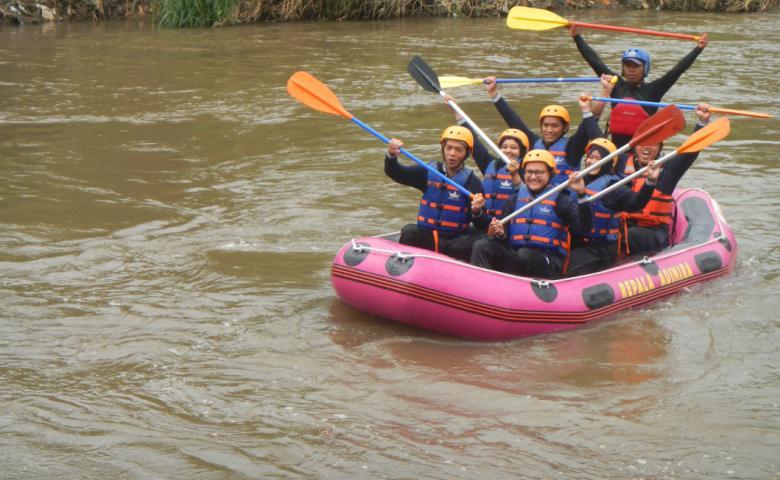 tempat wisata garut Sungai Cimanuk