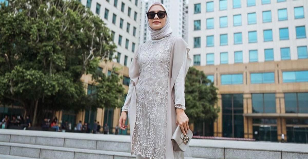 10 Inspirasi Fashion Kondangan Hijab Modern Ala Selebgram