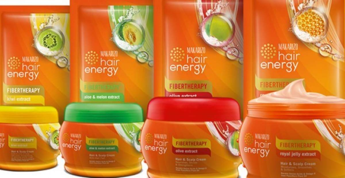 Review Makarizo Hair Energy Hair Mask 4 Varian Hair Mask