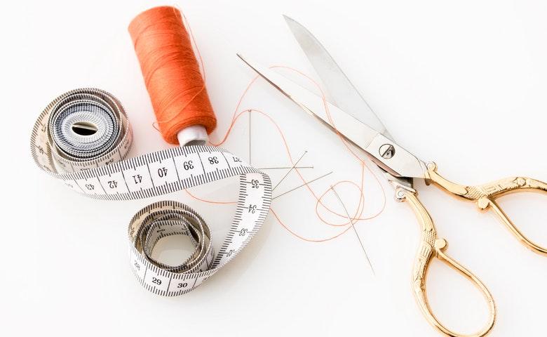 peralatan membuat masker dari kain perca
