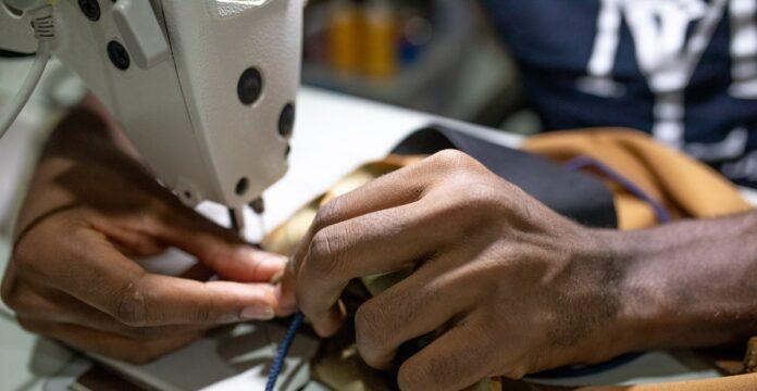 cara membuat masker dari kain perca