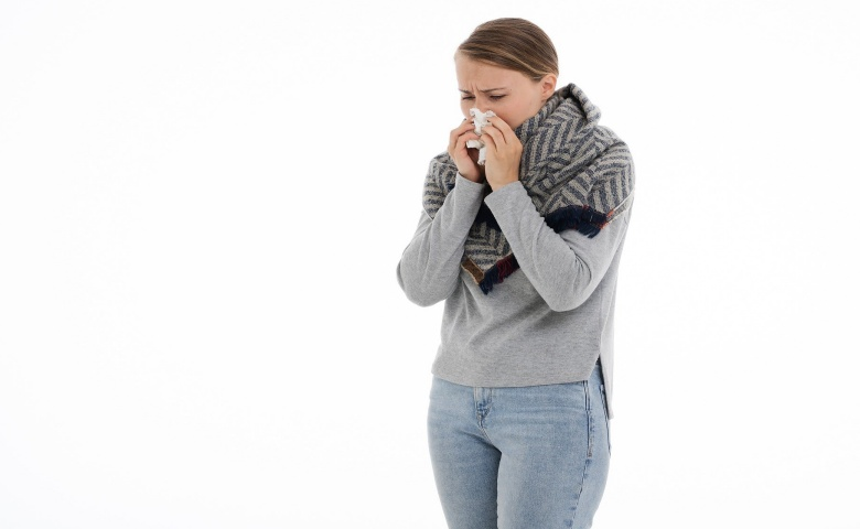 manfaat uap wajah Mengurangi Sinus